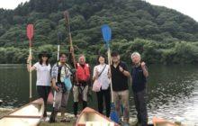 動画ブロガー米代川カヌー体験